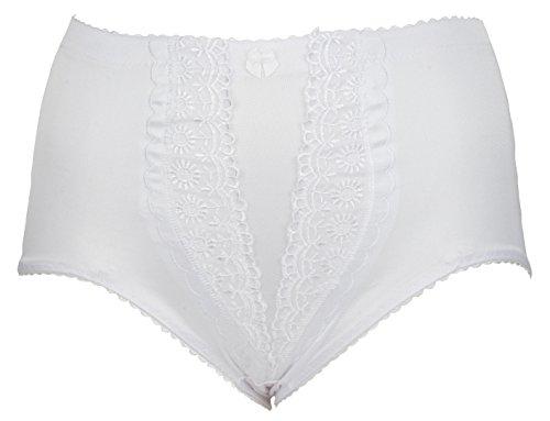 Trifolium -  Mutande contenitive  - Donna bianco 52