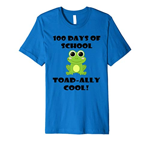 100 Days Of School Toad Ally Cool Cute Lovers T Shirt