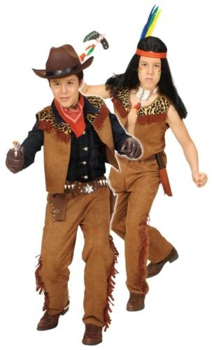 Widmann Generique - Déguisement Cowboy du Far West garçon 8 à 10 Ans