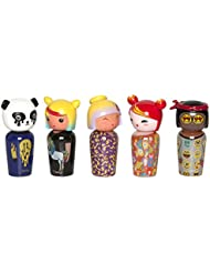 KOKESHI Jeremy Scott Coffret de 5 Miniatures Eau de Toilette 5 ml