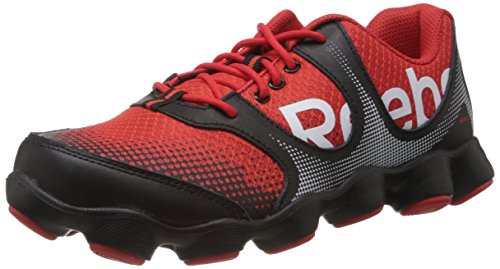 b251796a438a Reebok v60668 Boy S Atv19 Sonic Rush Black And Red Mesh Sports Shoes 3 5  Uk- Price in India