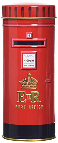 New English Teas Heritage Range English Icons Tall Post Box 14 Teabag Tin 28 g
