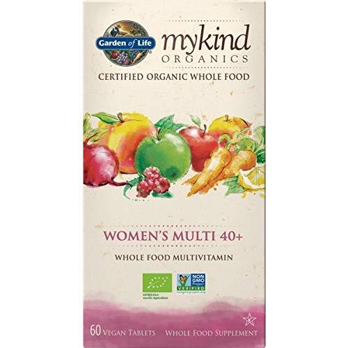 Garden of Life mykind Organics Women's Multi 40+ - 30 Tabletten I Multivitamin I Vitamine I Frauen ab 40 I Früchte I Gemüse I Kräuter I Vegan I Bio - Frucht Frauen