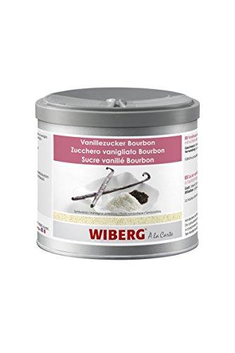 WIBERG Vanillezucker mit echtem Bourbon-Vanille-Extrakt, 1er Pack (1 x 450 g)