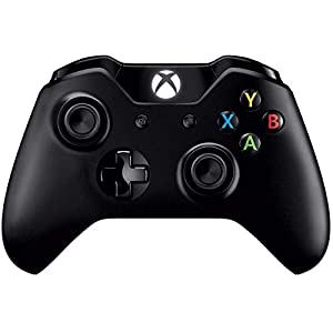 Microsoft Xbox One – Controller (13 Tasten, kabelgebunden) schwarz