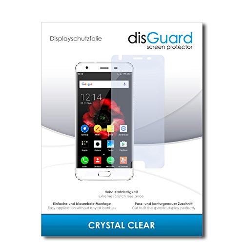 disGuard® Bildschirmschutzfolie [Crystal Clear] kompatibel mit Oukitel K4000 Plus [3 Stück] Kristallklar, Transparent, Unsichtbar, Extrem Kratzfest, Anti-Fingerabdruck - Panzerglas Folie, Schutzfolie