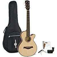 Guitarra Acústica Single Cutaway 3/4 + Accesorios de Gear4music