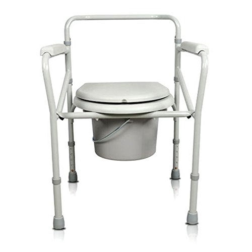 Preisvergleich Produktbild HJJ Toiletten-Stuhl-älterer Schwangeren Frauen-AusgangsSitz-Stuhl-behinderter Toiletten-Toiletten-Stuhl-Bad-Stuhl-Stahlrohr