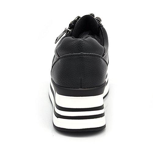 Scarpe da Donna Sneaker con Catene Platform 2778 2778 nero