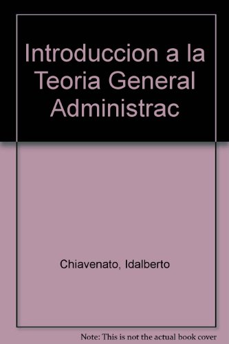 Introduccion a la Teoria General Administrac