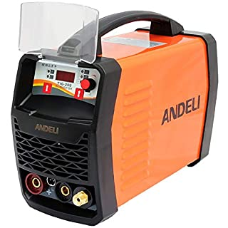 200AMP TIG/MMA(ARC) 2 IN 1 IGBT DC INVERTER WELDER WITH HF START/DIGITAL CONTROL PANEL LED DISPLAY/ACCESSORIES