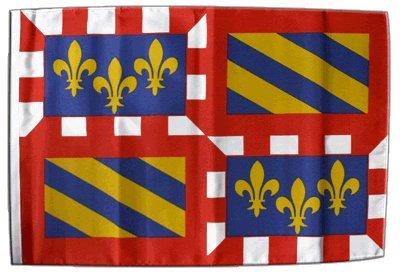 Digni drapeau France Bourgogne 30 x 45 cm