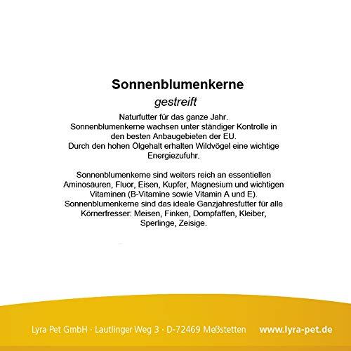 25 kg Sonnenblumenkerne gestreift Wildvogelfutter - 3
