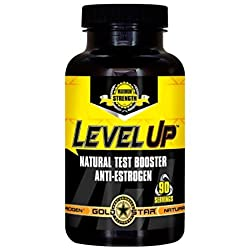 Goldstar Level UP 90 caps-Testo Booster!