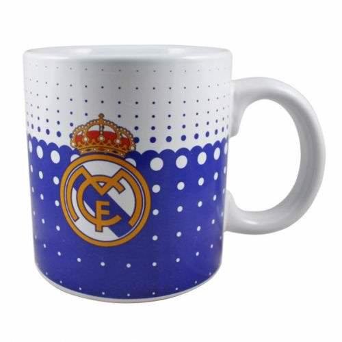 Preisvergleich Produktbild Original Real Madrid Jumbo XXL Mug Cup Tasse Kaffee Kaffeebecher Becher Tazza NEU