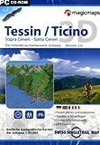 Tessin /Ticino 3D. Sopra Ceneri - Sotto Ceneri: Das Interaktive Kartenwerk. Schweiz 3D. (Interaktive Kartenwerke)