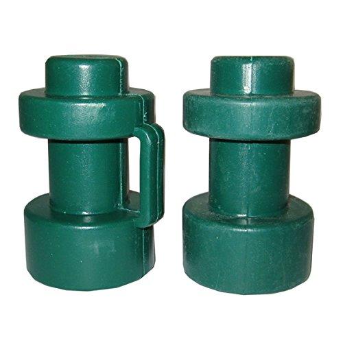 2 Abschlusskappen ø 25 mm für verschiedene Trampoline.