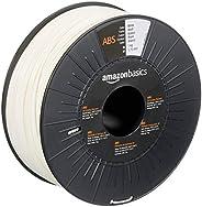 Amazon Basics Filament ABS pour imprimante 3D 1,75mm Bobine 1kg