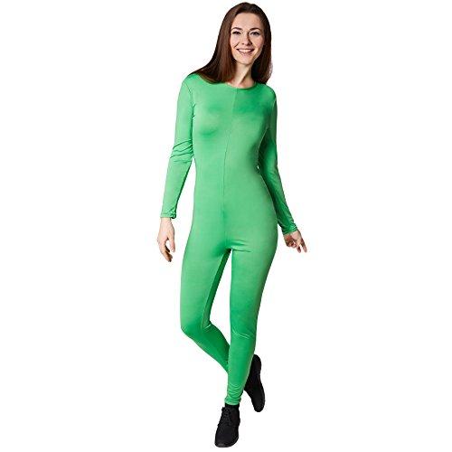 Unisex Jumpsuit   Einfarbiger, super bequemer Jumpsuit   Hinten mit Schnüren zum Binden   Kann unter andere Kostüme angezogen werden (L   Nr. 301650)