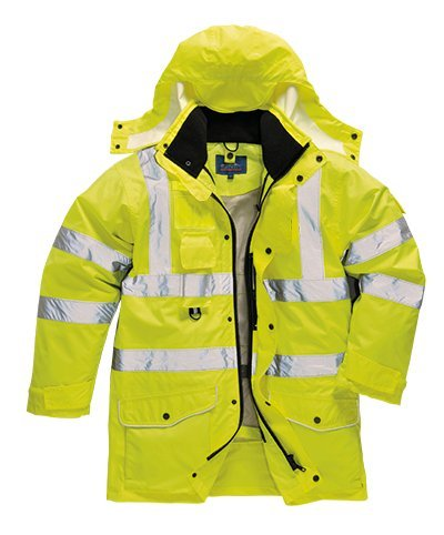 Portwest Hi-vis 7-in-1 traffic jacket (S427) Yellow XL