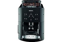 Krups, Espressomaschine EA810B, 1,7 l, Farbe Schwarz, Kaffeevollautomat, freistehend, integriertes Mahlwerk, 1.450W, Titan