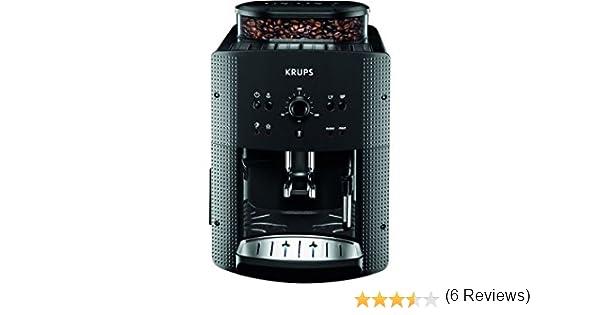 vasques, exprim/é Machine, 1.7/L, Built-in Grinder, 1450/W, black, Titanium Titanium Coffee Maker/ /Coffee Makers Krups EA 810B vasques fully-auto exprim/é Machine 1.7L Black
