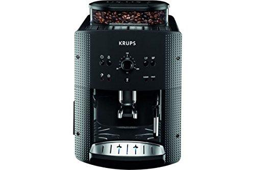 Krups, Espressomaschine EA810B, 1,7 l, Farbe Schwarz, Kaffeevollautomat, freistehend, integriertes...