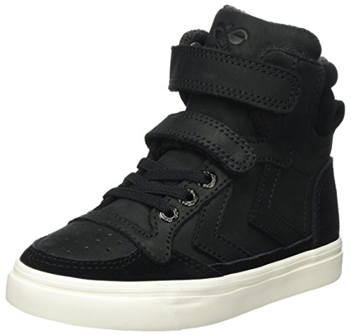 hummel Fashion - Chaussures Slimmer Stadil High', de sport SLIMMER STADI - Bleu - Blue - Blau (Dress Blue/White KH 7647), 41 EU (7.5 Erwachsene UK)