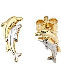 pendientes de delfines