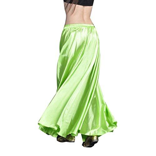 Schwarze Grüne Tanzkostüm Und - YouPue Damen Tanzkostüm Bauchtanz-Kostüm sexy High-End-Dual Rock Bauchtanz Leistungen große Rock Komfort (nicht enthalten Gürtel) Gürtel Kostüme Bauchtanz Taille Kette Frucht grün