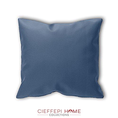Cieffepi home collections federa copricuscino ecopelle (60x60, bianco)