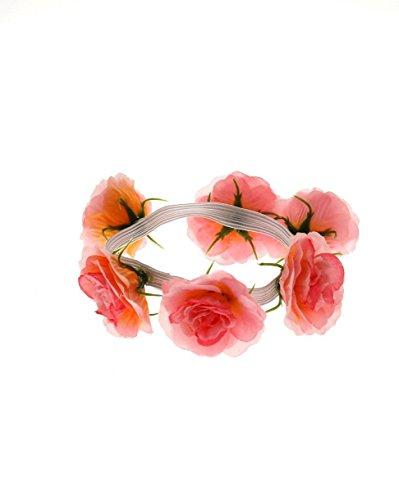 Londres Chignon Accessoires Boutique Fleur Rose/motif floral Bracelet pour les mariages, les festivals, Fancy Dress