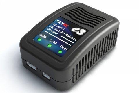 SKYRC e Serie Balance Compact Charger Intteligente Lipo Akku Ladegerät für RC Akku Batterien (15W) Test