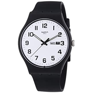 Swatch Twice Again – Reloj de Cuarzo Color Negro