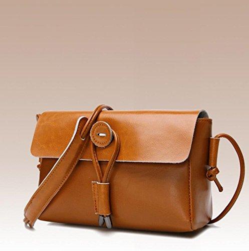 Z&N Damen Multitasche Casual Handtasche Reisetasche Messenger Kreuz Tasche geeignet für Freizeitaktivitäten Party Hochzeit im Freien Büro Beruf brown
