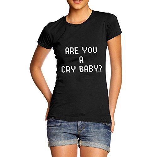 TWISTED ENVY  Damen T-Shirt Schwarz