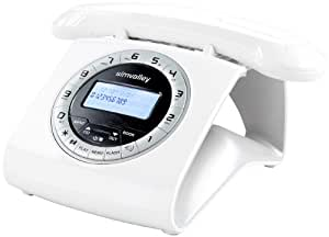 Telefon Schnurlos Retro : simvalley communications retro dect schnurlostelefon ~ Watch28wear.com Haus und Dekorationen