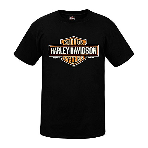 HARLEY-DAVIDSON® Long Logo T-Shirt and Warr\'s London Timeless Legends Back (2XL)