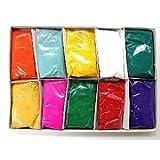 Festival colores (Rangoli) Holi alta calidad colores (Pack de 10)
