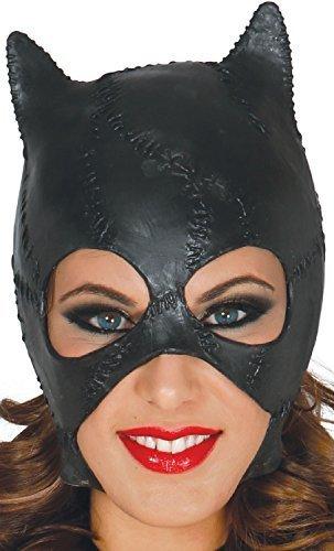 rz Katze Kitty Halloween Latex Horror Kostüm Kleid Outfit Maske (Kitty Katze Kostüme Für Halloween)