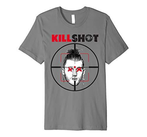 b88288f4065f1 Killshot T-shirt Rapper Geschenk - RIP Rapper Schlacht Gesch