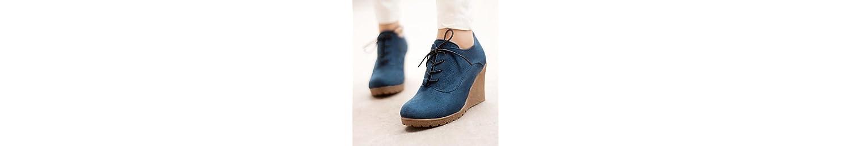 RTRY Zapatos de mujer moda Otoño Invierno Pu botas botas enredaderas Round Toe botines/Botines for casual negro... -