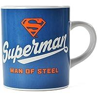 """Tazzina da espresso con scritta """"Superman - Man of Steel"""""""