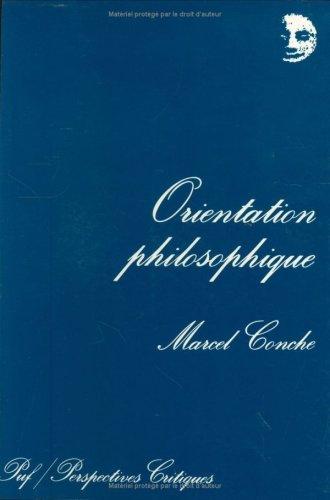 Orientation philosophique