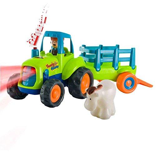 Tracteur avec remorque - 1er âge