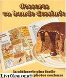 Les desserts en bandes dessinées