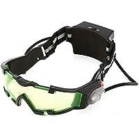cvbfghgfjhfgjhf Gafas Eyeshield Lente Verde Banda elástica Ajustable Visión Nocturna Gafas de Seguridad de Trabajo Industrial Gafas de Lectura de Moda