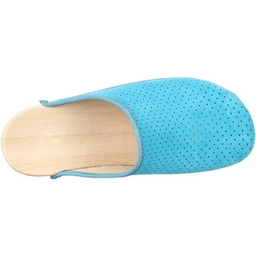 Berkemann Standard-toeffler, Sabots Mixte adulte Bleu