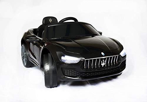Maserati macchina elettrica per bambini 12v ghibli nera