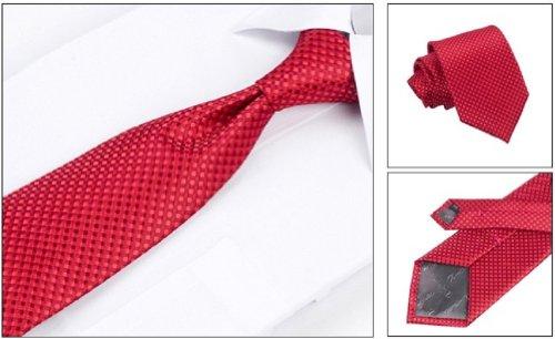 Corbata rojo cereza